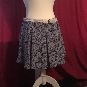 Heart soul mini flows skirt